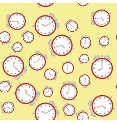 Seamless pattern with watches 572 vector