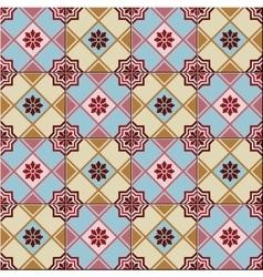 Seamless pattern white turkish moroccan vector