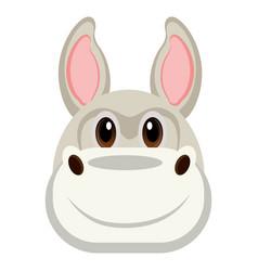 avatar of a donkey vector image