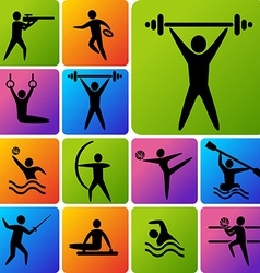 IconsSports vector image vector image
