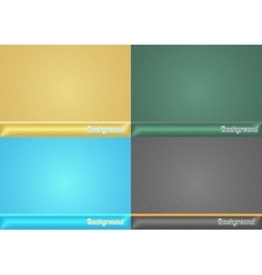 Set abstract background for presentation vector image