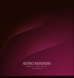 Abstract background with curve lines vector