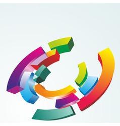 Color symbol vector image vector image