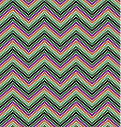 Colorful zig zag stripe pattern background design vector