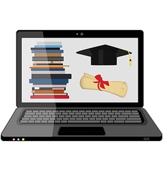 E-learning vector image