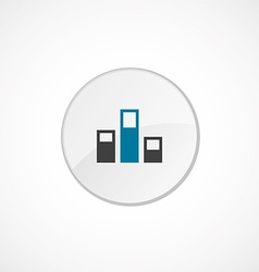 Levels icon 2 colored vector