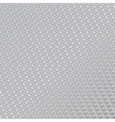 Metal anti slip semi circle vector