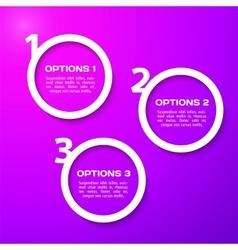 Progress background Paper design vector image vector image