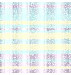 Colorful pattern of thin grunge stripes vector image