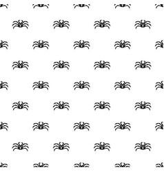 fresh live crab pattern vector image