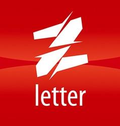 Abstract logo creative letter z vector