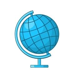 Globe icon in cartoon style vector
