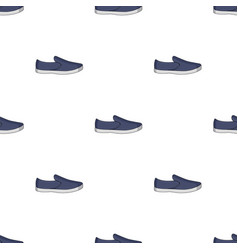 Blue men summer espadrilles summer comfortable vector