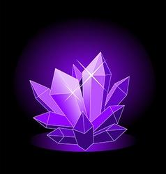 crystal4 vector image vector image