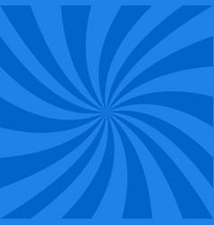 Blue spiral background vector