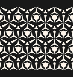 Geometric seamless pattern with edgy triangular vector