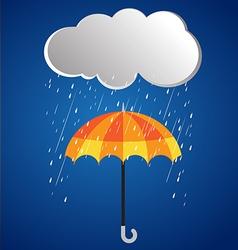 Rainy day rainy umbrella 2 vector