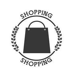 Shopping pictogram vector