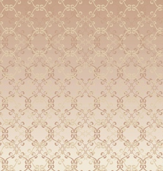 Floral design beige seamless vector