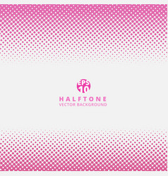 abstract striped pink dotted halftone effect vector image vector image