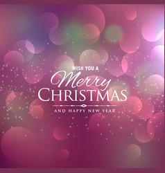 Beautiful background for chrismas festival season vector