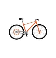 Bicycle Design Flat Isolated vector image