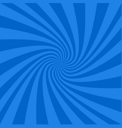 Blue abstract spiral design background vector