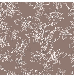 new flower seamless vector image vector image