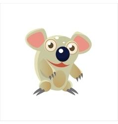Smiling Koala Bear vector image vector image