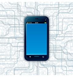 Communicator Technology vector image