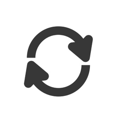 Arrow circle icon direction design vector