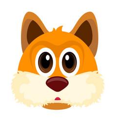 avatar of a fox vector image vector image