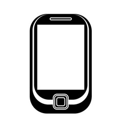 cellphone mobile technology pictogram vector image