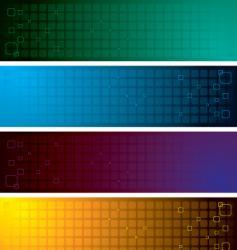 Grid band vector