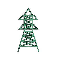 Radio antenna isolated vector