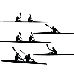 Rowing - vector