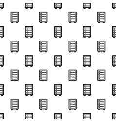 Security safe locker pattern simple style vector