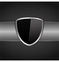 Shield vector image vector image