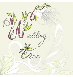 Wedding time vector