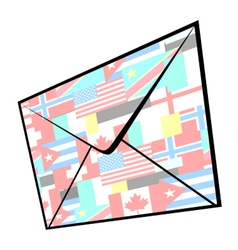 World mail vector
