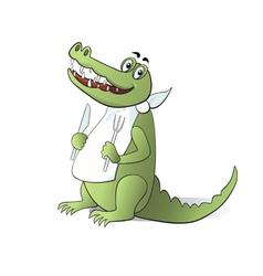 Crocodile vector