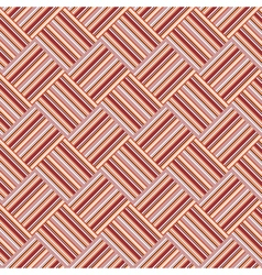 Design seamless colorful interlaced pattern vector
