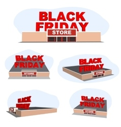 Abstract 2016 Black Friday store For vector image