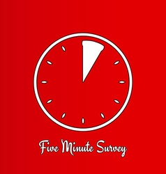 Five minute survey vector