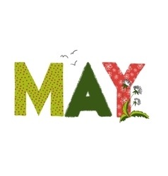 May month name vector