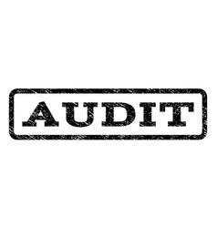 Audit watermark stamp vector