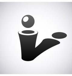 logo for letter I Design template vector image vector image