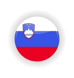 Slovenia icon circle vector