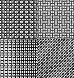 lattice patterns vector image