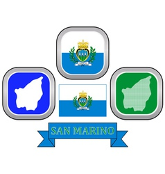 Symbol of san marino vector